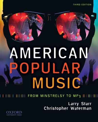 American Popular Music From Minstrelsy to MP3 3rd 2010 edition cover