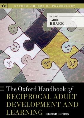 Oxford Handbook of Reciprocal Adult Development and Learning  2nd 2011 edition cover