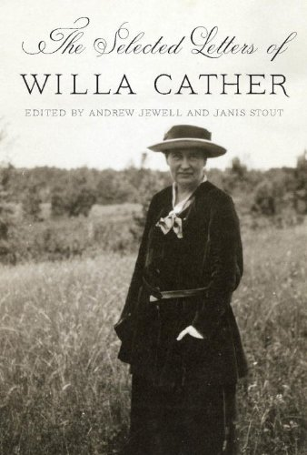 Selected Letters of Willa Cather   2013 edition cover