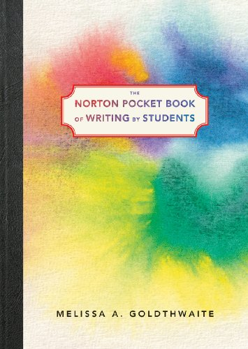 Norton Pocket Book of Writing by Students   2010 edition cover