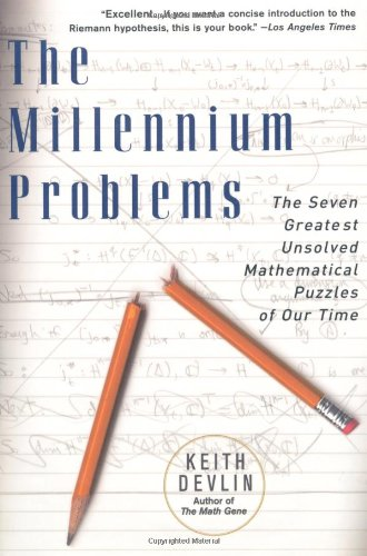 Millennium Problems The Seven Greatest Unsolved Mathematical Puzzles of Our Time  2003 edition cover