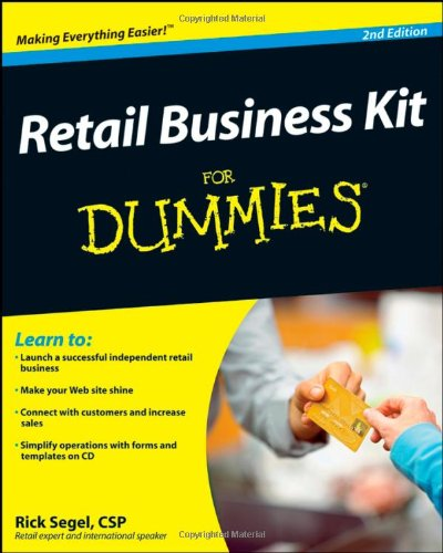 Retail Business Kit for Dummies�  2nd 2008 edition cover