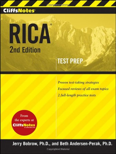 RICA  2nd 2010 edition cover