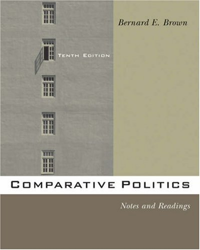 Comparative Politics Notes and Readings 10th 2006 (Revised) 9780534601300 Front Cover