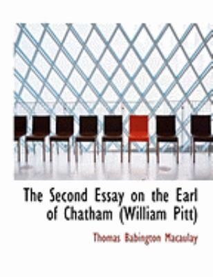 The Second Essay on the Earl of Chatham (William Pitt):   2008 edition cover