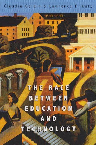 Race Between Education and Technology   2008 edition cover