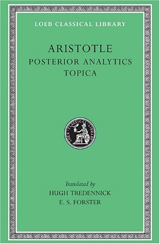 Posterior Analytics - Topica   1960 edition cover