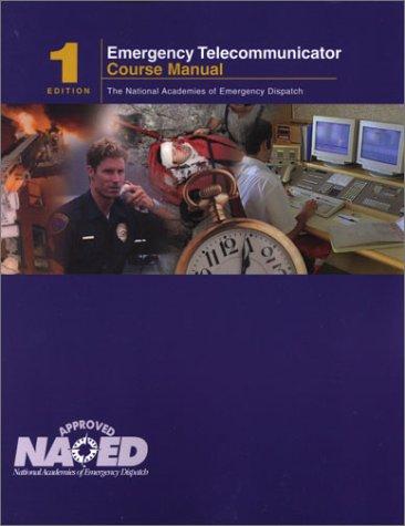 Emergency Telecommunicator 1st 2001 edition cover