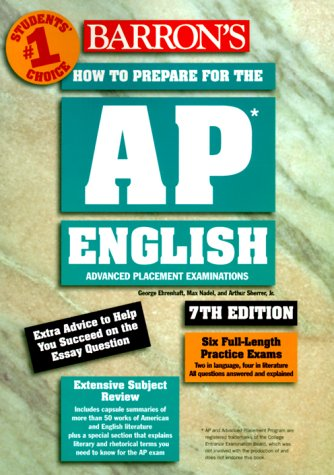 How to Prepare for the Advanced Placement Exam, AP : English 7th 2000 9780764112300 Front Cover
