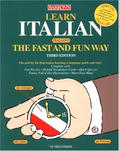 Learn Italian the Fast and Fun Way  3rd 2004 edition cover