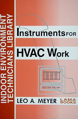 Instruments for HVAC Work   2003 9780880690300 Front Cover