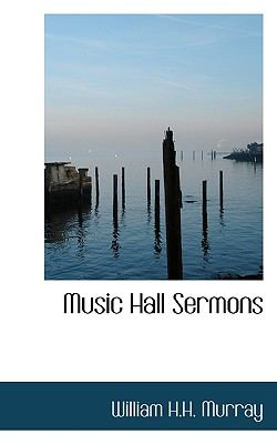 Music Hall Sermons N/A 9781115070300 Front Cover