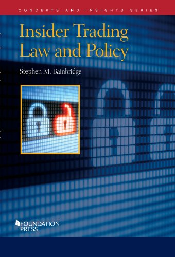 Insider Trading Law and Policy:   2014 edition cover