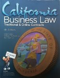 CALIFORNIA BUSINESS LAW                 N/A edition cover