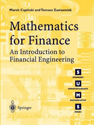 Mathematics for Finance An Introduction to Financial Engineering  2005 edition cover