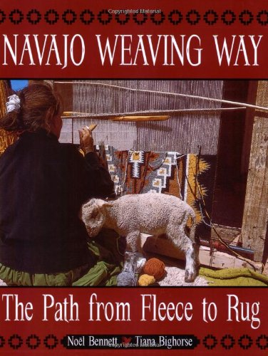 Navajo Weaving Way The Path from Fleece to Rug  1997 edition cover