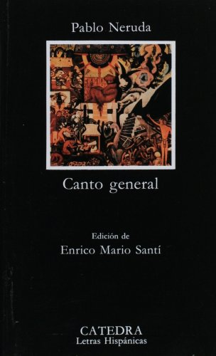 CANTO GENERAL   1990 edition cover