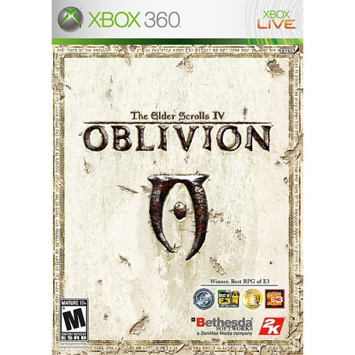 Elder Scrolls IV: Oblivion Game of the Year Edition -Xbox 360 Xbox 360 artwork