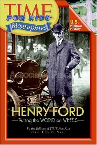 Henry Ford - Putting the World on Wheels  N/A 9780060576301 Front Cover