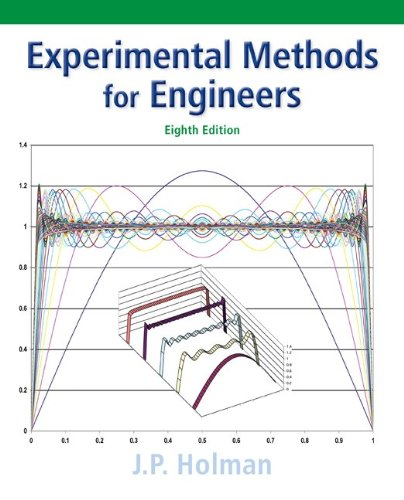 Experimental Methods for Engineers  8th 2012 edition cover