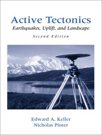 Active Tectonics Earthquakes, Uplift, and Landscape 2nd 2002 edition cover