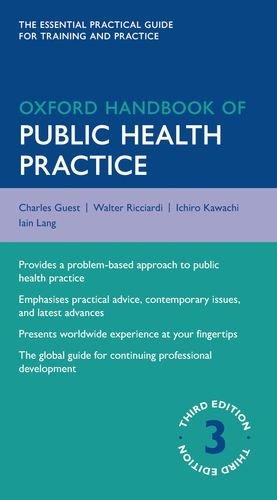 Oxford Handbook of Public Health Practice  3rd 2013 edition cover