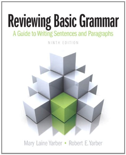 Reviewing Basic Grammar  9th 2013 (Revised) edition cover