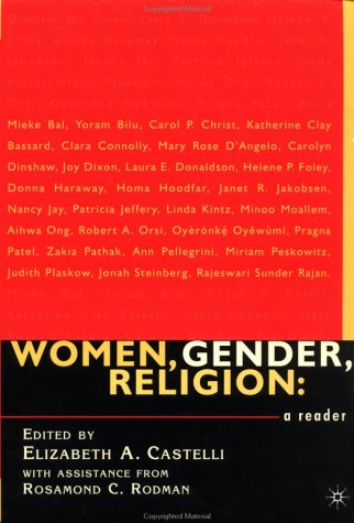 Women, Gender, Religion A Reader  2001 (Revised) edition cover