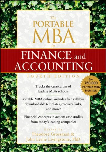 Portable MBA in Finance and Accounting  4th 2009 edition cover