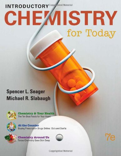 Introductory Chemistry for Today  7th 2011 9780538734301 Front Cover