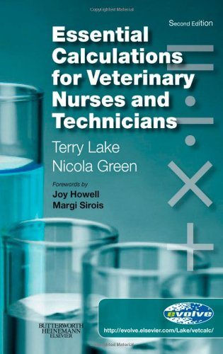 Essential Calculations for Veterinary Nurses and Technicians  2nd 2008 edition cover