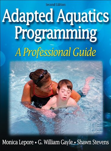 Adapted Aquatics Programming A Professional Guide 2nd 2007 edition cover