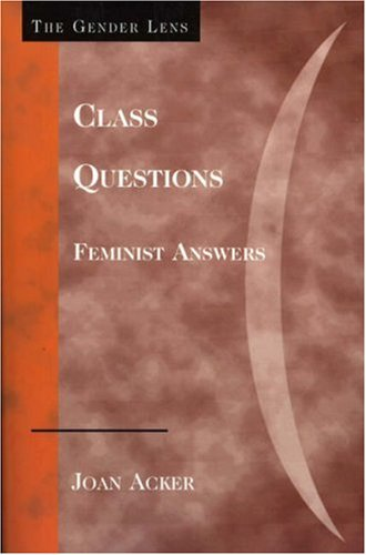 Class Questions Feminist Answers  2006 edition cover