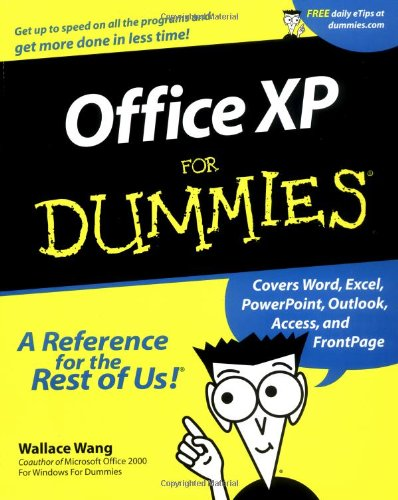 Office XP for Dummies�   2001 9780764508301 Front Cover