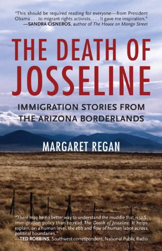 Death of Josseline Immigration Stories from the Arizona Borderlands  2011 edition cover