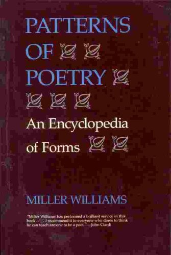 Patterns of Poetry An Encyclopedia of Forms N/A edition cover