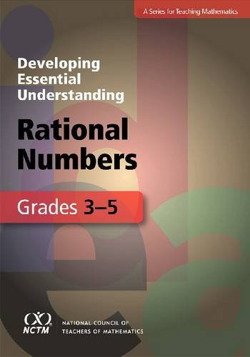 Developing Essential Understanding of Rational Numbers for Teaching Mathematics in Grades 3/5   2010 edition cover