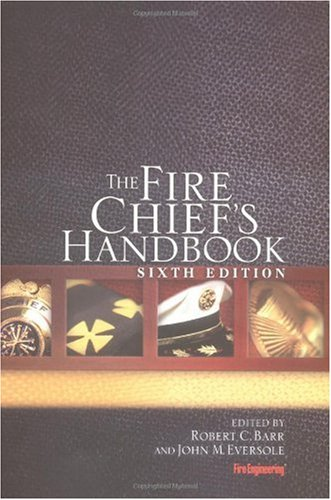 Fire Chief's Handbook  6th 2003 edition cover