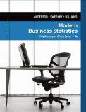 Modern Business Statistics With Microsoft Excel:   2014 edition cover