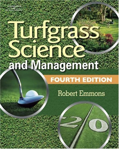 Turfgrass Science and Management  4th 2008 (Revised) edition cover
