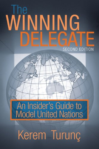 Winning Delegate An Insider's Guide to Model United Nations N/A edition cover
