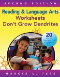 Reading and Language Arts Worksheets Don't Grow Dendrites 20 Literacy Strategies That Engage the Brain 2nd 2014 edition cover