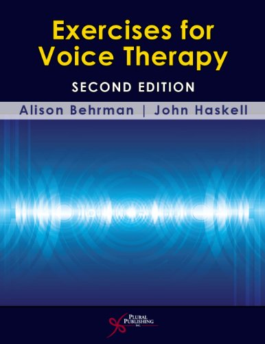 Exercises for Voice Therapy  2nd 2013 (Revised) 9781597565301 Front Cover