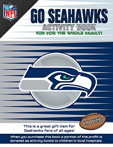 Go Seahawks Activity Book   2014 9781941788301 Front Cover