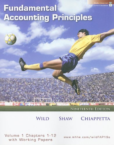 Fundamental Accounting Principles  19th 2009 edition cover