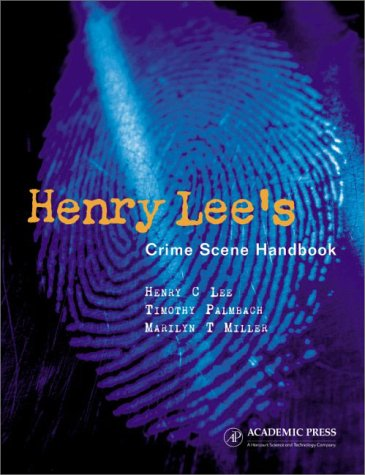 Henry Lee's Crime Scene Handbook   2001 edition cover