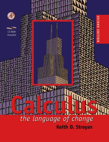 Calculus The Language of Change 2nd 1998 edition cover