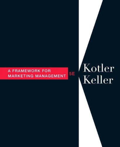 Framework for Marketing Management  5th 2012 (Revised) 9780132539302 Front Cover