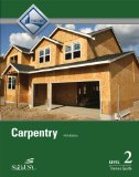 Carpentry, Level 2 Residential and Commercial Framing and Finishing 5th 2015 edition cover