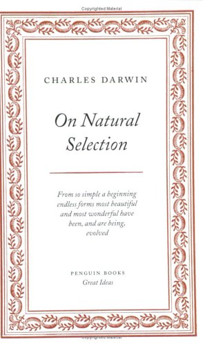 On Natural Selection   2005 edition cover